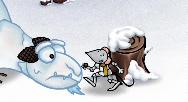 Sneeuwdraak afbeelding